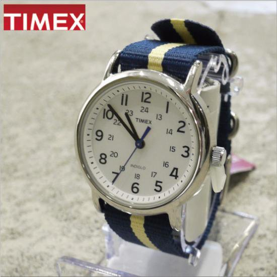 TIMEX (タイメックス) WEEKENDER CENTRAL PARK NAVY×YELLOW