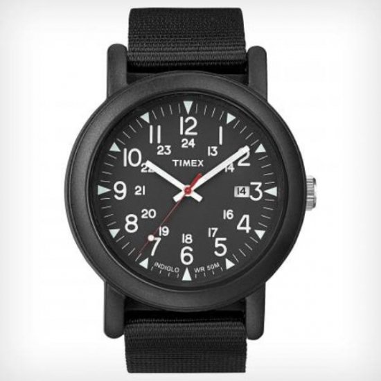 TIMEX (タイメックス) Over Size Camper black