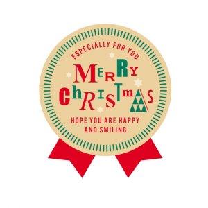 WS/ナチュラルクリスマス(1シート2枚)全1色