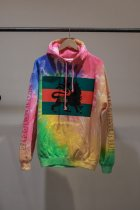 NuGgETEE / LION Hooded parka-tie dyeing