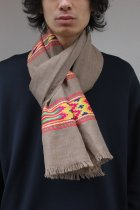 HHWT / Hand Woven jaquaed Stole