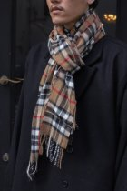 <font color=#FF0000>【50%OFFクーポン対象】</font>Remake check scarf