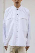 O project / LS REGULAR FIT SHIRTS white