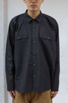 O project / LS REGULAR FIT SHIRTS black