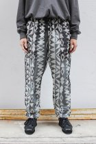 South2 West8 / Bush String Pant - Poly Lightweight Mesh / Print - skull & target