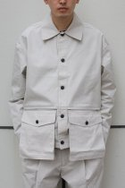 Lownn / Utility Short jacket off white