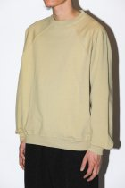 LADY WHITE / JACOB SWEAT SHIRT - tan birch