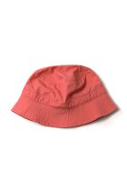 BURLAP OUTFITTER / BUCKET HAT -greysh pink