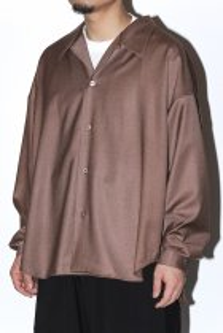 SuperNova. / Big shirt - Gabardine / Brown