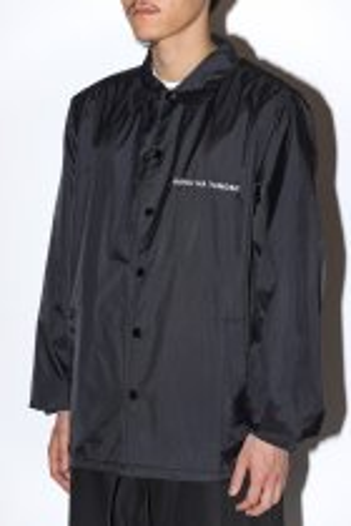 BOKU HA TANOSII / Coach Jacket black