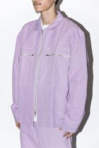 STORYmfg / Larry Jacket- Lilac Linen Mix