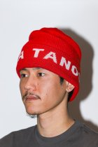 BOKU HA TANOSII / Knit Cap red