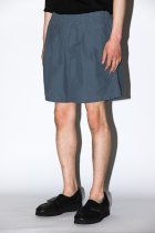 BURLAP OUTFITTER / TRACK SHORT -chacoal-