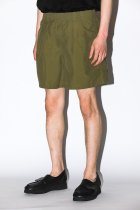 BURLAP OUTFITTER / TRACK SHORT -new olive-