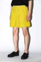BURLAP OUTFITTER / TRACK SHORT -mustard-