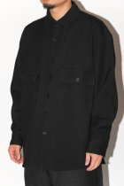 evan kinori / Big Shirt - Worsted Wool Serge