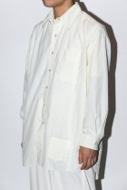 BURLAP OUTFITTER / L/S B.B. SHIRT off white