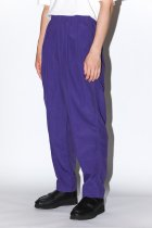 BURLAP OUTFITTER / TRACK PANT purple