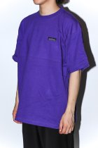 <font color=#FF0000>【30%OFFクーポン対象】</font>THOUSAND MILE / WAVE CREW NECK S/S JACKET -purple-