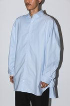 WILLY CHAVARRIA / BIG OXFORD SHIRT - LIGHT BLUE