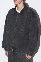 WILLY CHAVARRIA / SILVERLAKE JACKET - washed black