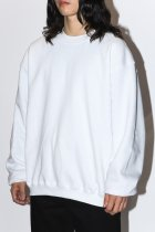 BAYSIDE / short length sweat - white