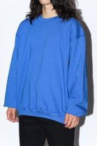 BAYSIDE / short length sweat - blue