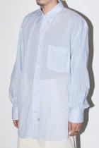 Marvine Pontiak Shirt Makers / Regular Collar 3 Button SH - Sax CH