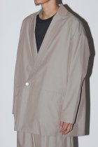 【入荷予定商品 入荷連絡受付中】Dulcamara / チノチノダブルJK - beige