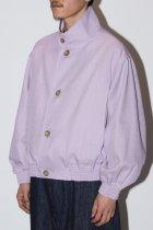 NEZU YOHIN TEN / O.J. STAND BLOUSON -lavender