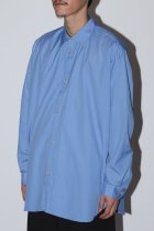 ENCOMING / CLASSIC LONG SLEEVE SHIRT - olympic blue