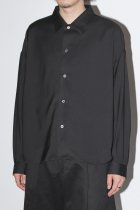 SuperNova. / Big shirt - Gabardine / Black