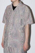 Monitaly / S/S 50's Milano Shirt - betro paisley