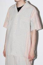 Monitaly / S/S 50's Milano Shirt - gunny sack stripe