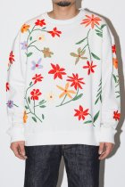 Niche. / Flowers EMB C/N Sweat - All Over G