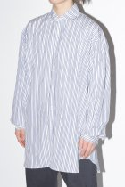 WILLY CHAVARRIA / BIG WILLY DRESS SHIRT - stripe