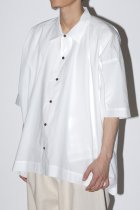 O project / SHORT SLEEVE SHIRTS - off white