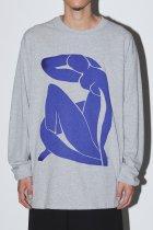 Naomi Yarn Delight / BLUE NUDE -sports gray-