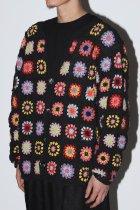 Niche. / Crochet Cardigan -Colorful - black