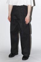 saby / ×Dickies TUCK BAGGY - black 【4月下旬入荷予定 予約商品】