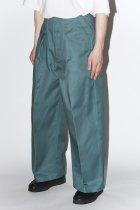 saby / ×Dickies TUCK BAGGY - green 【4月下旬入荷予定 予約商品】