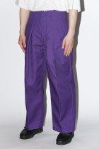 saby / ×Dickies TUCK BAGGY - purple 【4月下旬入荷予定 予約商品】