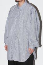 Marvine Pontiak Shirt Makers / Italian Collar SH - Gingham Dobby