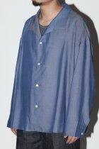 superNova. / Medical shirt-chambray - navy