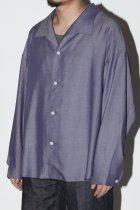 superNova. / Medical shirt-chambray - purple