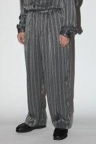 superNova. / Offcer pants-jacquard - stripe