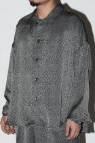 superNova. / BIG shirt Jacket - Jacquard - diamond