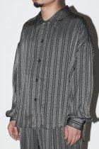 superNova. / BIG shirt Jacket - Jacquard - stripe