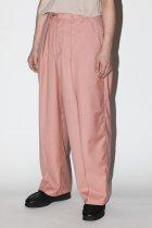 superNova. / Offcer pants-gabardine - pink
