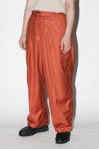 superNova. / Offcer pants-gabardine - orange